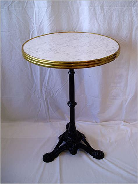 Nantucket Bistro Table Vogue Accessories For A Brasserie Style Home Boston