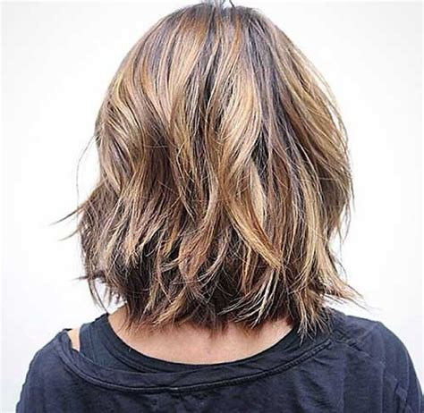 Medium Style Hair With Back A Little Shorter Than Sides | back view of bob hairstyles bob hairstyles 2017 short