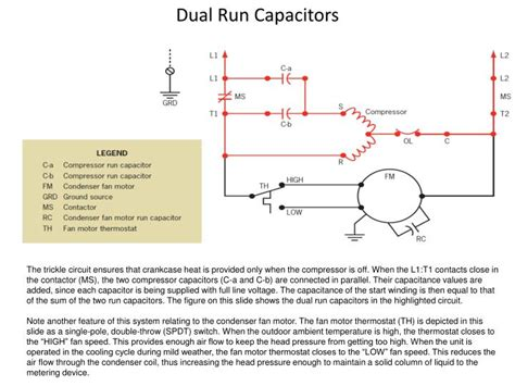 dual run capacitor ppt seminar presentation dual run capacitor in parallel 28 images single phase induction motors i a made single