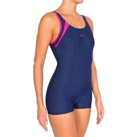 maillot de bain femme 1 shorty maillot de bain 1 pi 232 ce shorty aquanew bleu decathlon