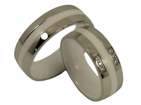 Ausgefallene Paar Ringe by Ringe Aus Keramik Kwo Trauringe