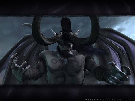 wallpaper warcraft 3 frozen throne illidan stormrage free warcraft 3 the frozen throne