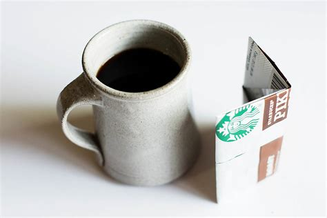 Origami Coffee - origami wallet from a coffee bag giving back with