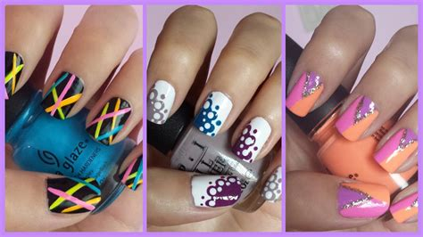 easy to do nail designs step by step easy nail