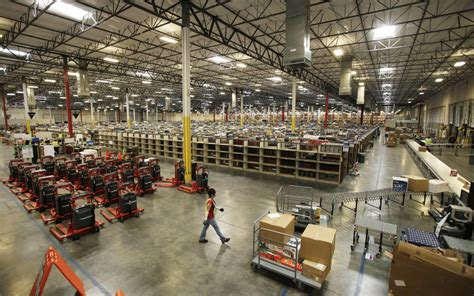 amazon warehouse amazon sets up really big shop to get you your stuff