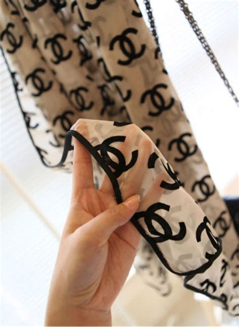 Channel Scarf 40 best chanel scarf images on chanel scarf