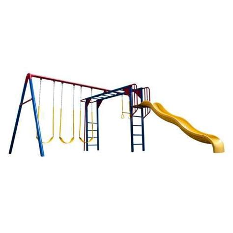 metal swing sets with monkey bars lifetime monkey bar adventure swing set reviews wayfair