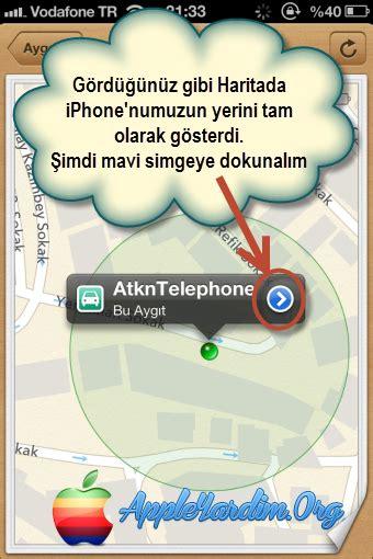 iphone u bul uygulamasının kullanımı tam anlatım uzaktan erişim