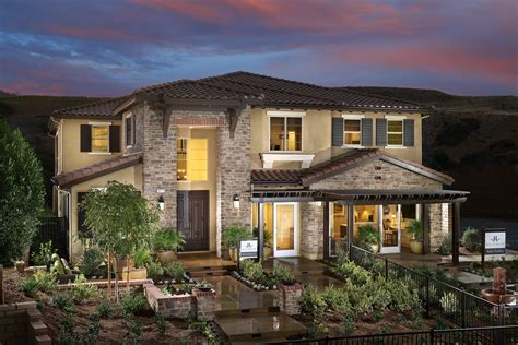 new homes in chino hillcrest woodbridge pacific