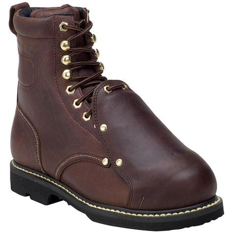 mens steel toe boot s golden retriever 174 8 quot met guard steel toe eh boot