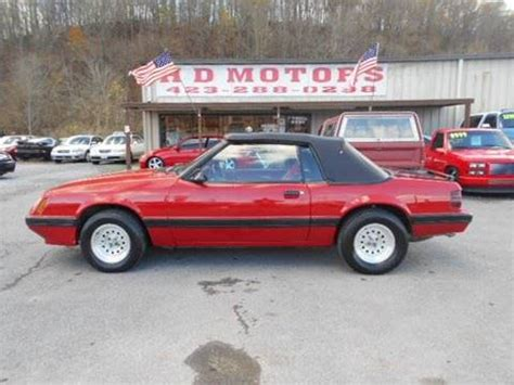 86 ford mustang gt for sale 1986 ford mustang for sale carsforsale