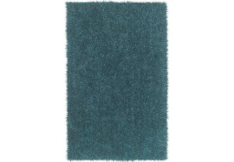 Rugs 5 X 7 by Brenard Teal Shag 5 X 7 Rug Rugs Green