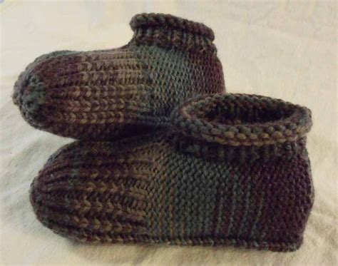 knitted slipper patterns kweenbee and me how to knit a pair of slippers