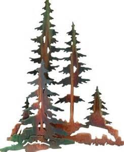 Moose Wall Sconce 3d Pine Trees Rustic Metal Wall Art 20 Quot Rustic Artwork