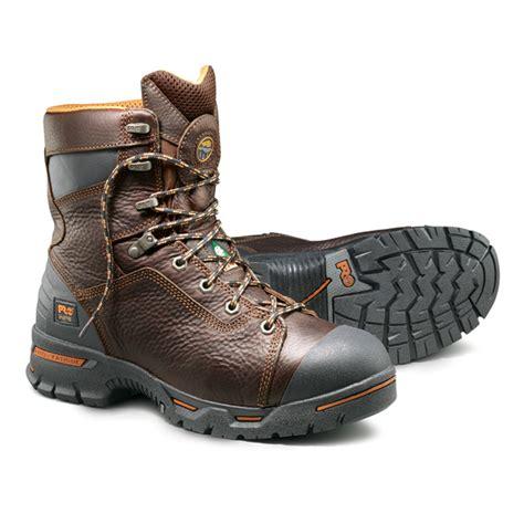 Sepatu Timberland Boots 16 by Timberland Pro Endurance 8 Inch Steel Toe Boot 52561