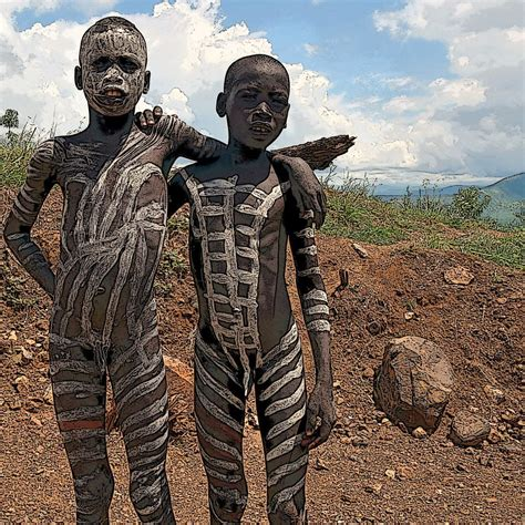 Mursi Boys Images Usseek Com