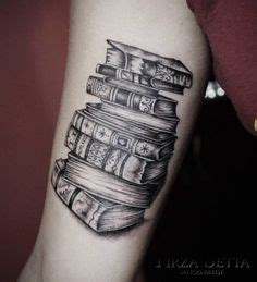 tattoo animal stack stack of books tattoos google search book tattoos