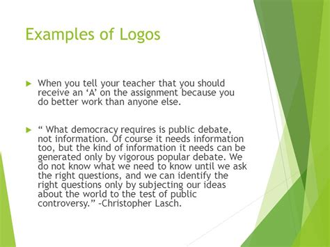 persuasive logos ethos and pathos ppt download