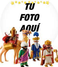 fotos reyes magos montaje fotomontaje de reyes magos con los playmobil para tu foto