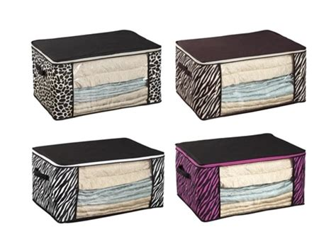 storage for comforters dorm bedding storage box 4 animal prints available