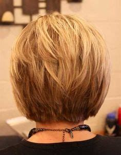the back of sharon stines short bob side back textured bob short haircut with volume and