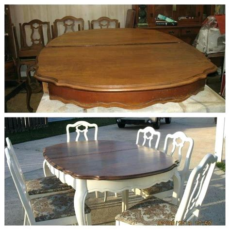 chalk paint kitchen table ideas painted kitchen tables and chairs spray painting