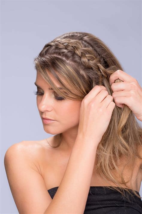 Wedding Hairstyles Side Pony With Braid by Photos Side Pony With Braid Step 2 Inside Weddings
