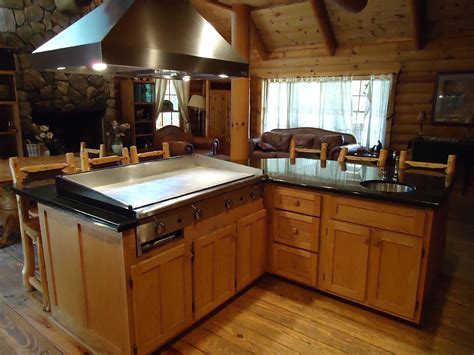 kitchen island grill lodge rental kitchen island in grand lodge