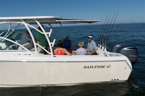sailfish boats quality first look sailfish boats introduces 325dc on the water