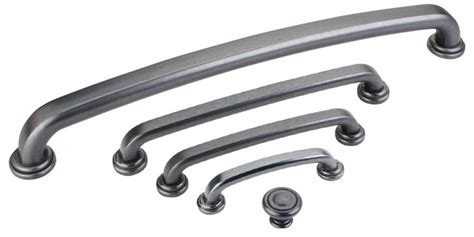 Gunmetal Cabinetry Hardware