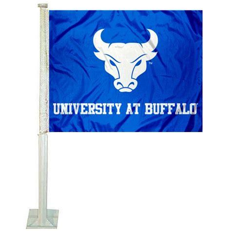 ub bulls  logo car flag  college car flags  ub bulls
