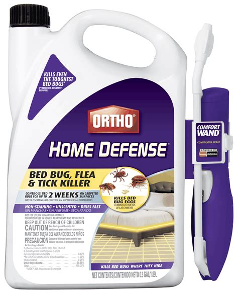 ortho 174 home defense 174 bed bug flea tick killer