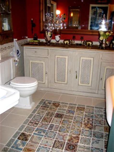 patchwork  spanish tiles antique floor victorian