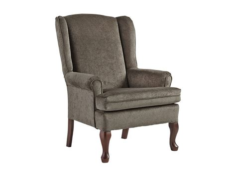 queen ann recliner best home furnishings living room queen anne wing chair