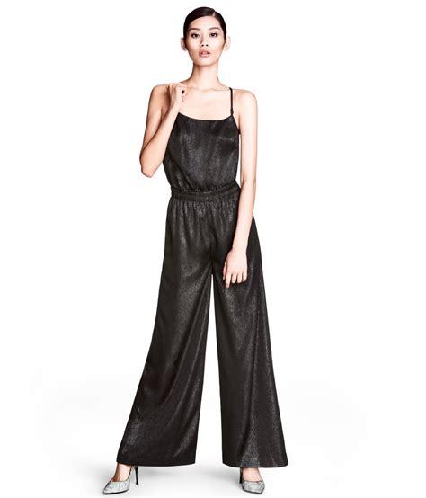 Jumpsuit M Fashion h m jumpsuit in black lyst