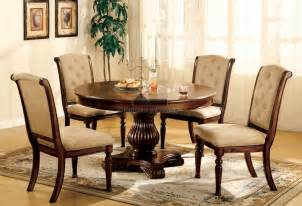 Dining Room Sets Round Table by Round Wood Dining Room Table Sets Marceladick Com