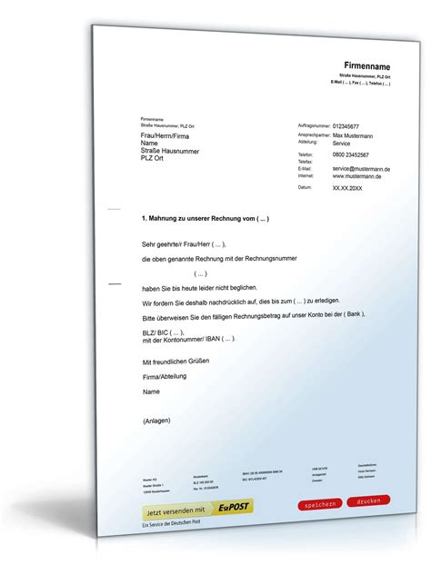 Musterbriefe Beschwerde Beim Vermieter Die Angaben Auf Der Mahnung Bei Mietrckstand Mahnung Vorlage 2 Wie Schreibe Ich Eine Kndigung