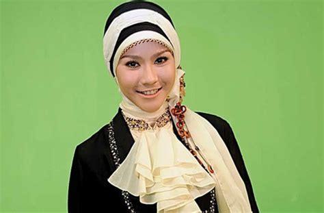 Bentuk Jilbab Trend Model Rambut Terbaru 2014 Sesuai Bentuk Wajah The