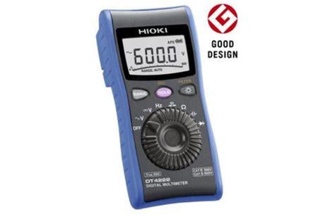 Multimeter Hioki hioki dt4221 digital multimeter pocket model tequipment net