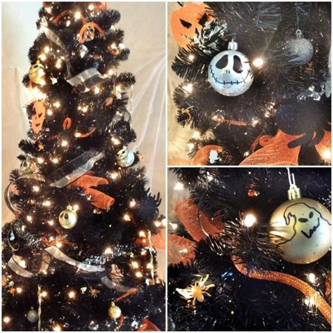 diy nightmare  christmas halloween tree