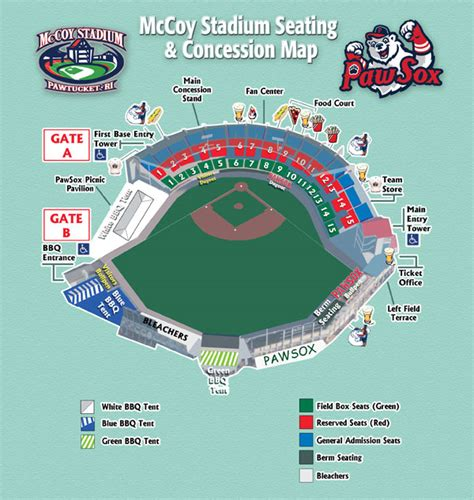 mccoy stadium seating chart mccoy stadium seating pawtucket sox mccoy stadium