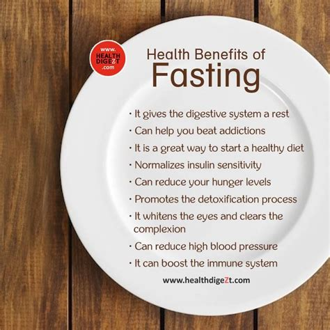 fasting benefits health benefits of fasting daily health tips