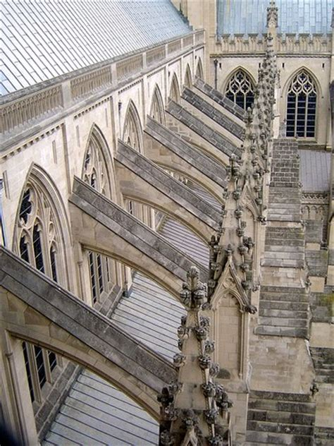 flying buttress architecture gothic cathedrals of the middle ages
