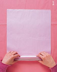 How To Make Tissue Paper Pom Poms Step By Step - all things diy tissue paper pom poms