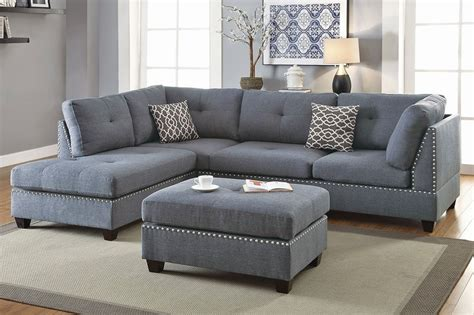 linen sofa sectional adnus grey linen sectional sofa