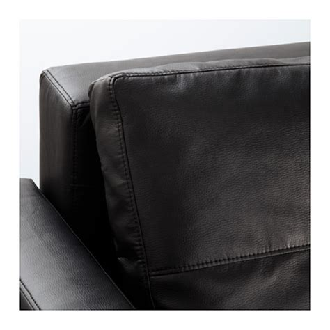 Ikea Black Sofa Bed Friheten Three Seat Sofa Bed Bomstad Black Ikea