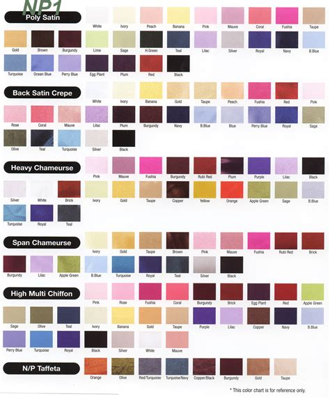 np1 color chart k l np1 color chart