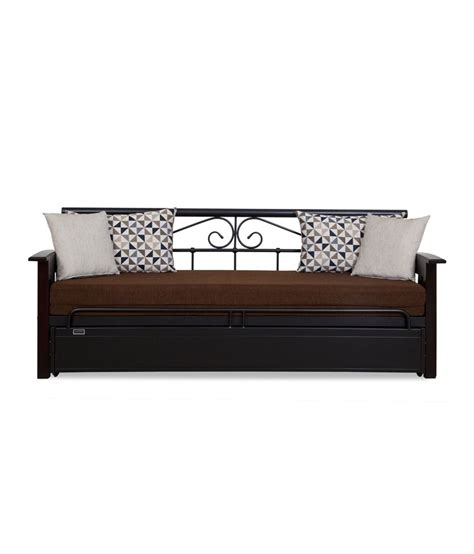 steel sofa come bed price furniture kraft sofa cum bed with storage wooden arms
