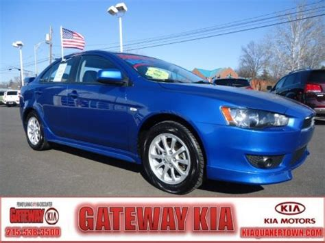Gateway Kia Quakertown Used 2010 Mitsubishi Lancer Es For Sale Stock Q4151a