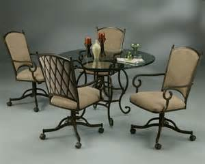 Rolling Chair Design Ideas Dinette Sets With Rolling Chairs Kitchen Chairs The Best Chairs Designs For Dining Room